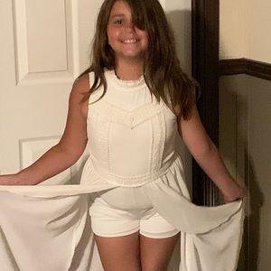 Size Medium 12 Beautees dress/ shorts combo